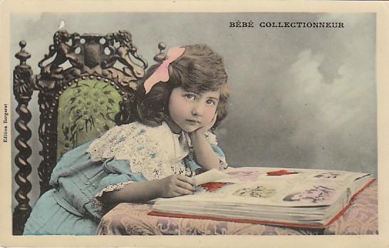 Bébé collectionneur - éditions Bergeret