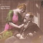 Carte Postale Ancienne - Saint-Valentin - série Intimité, éditeur Mésange, n° 750
