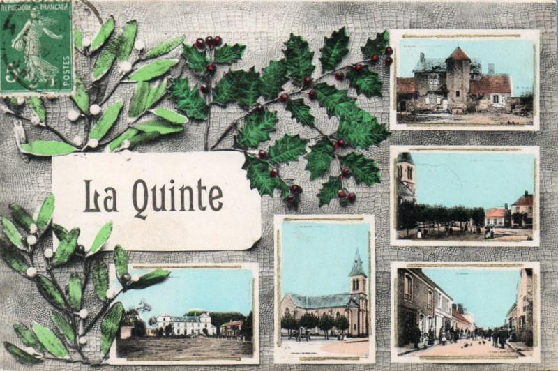 CPA de La Quinte (72) - multi-vues avec  gui et houx | Delcampe
