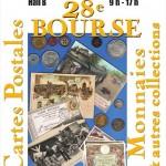 28ème bourse aux Cartes Postales, Monnaies et autres collections, organisée par la SNCB - 10 mai 2015, Bourges (18)
