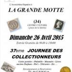 37ème journée des collectionneurs - 26 avril 2015 - La Grande-Motte (34)
