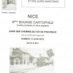 8ème bourse cartophile - 13 juin 2015 - Nice (06)