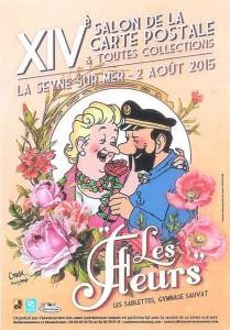14e salon de la Carte Postale - 2 août 2015 - La Seyne-sur-Mer (83)